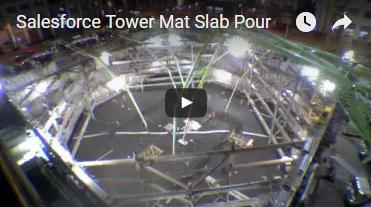 Salesforce Tower Mat Slab Pour
